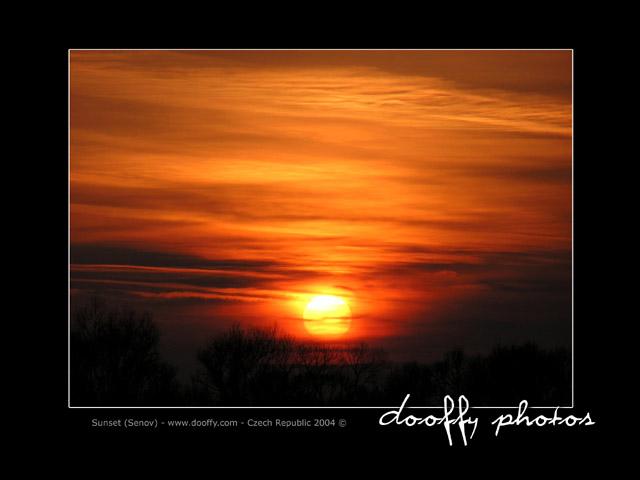 Sunset - Šenov