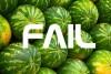 GIF: Víte, jak rozbít meloun pomocí své hlavy (Fail Watermelon)?