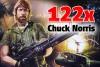 122x Legendami opředený Chuck Norris