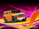 Orange Hummer